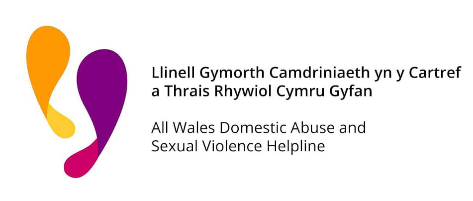 All Wales Helpline Logo